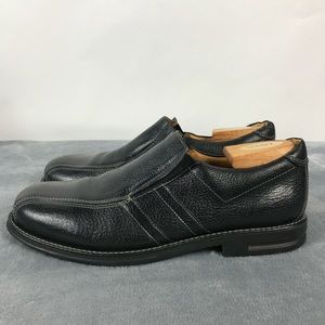 Sandro Moscoloni Men's Black Slip On Loafers 11D